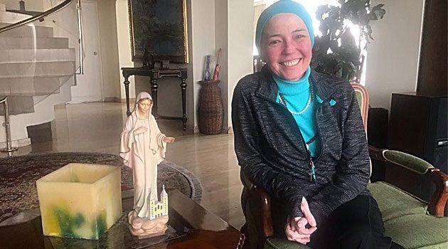 76e36782752 Margarita es abogada y madre de cuatro hijos. María Margarita Cuéllar sabe  con certeza que la Virgen ...