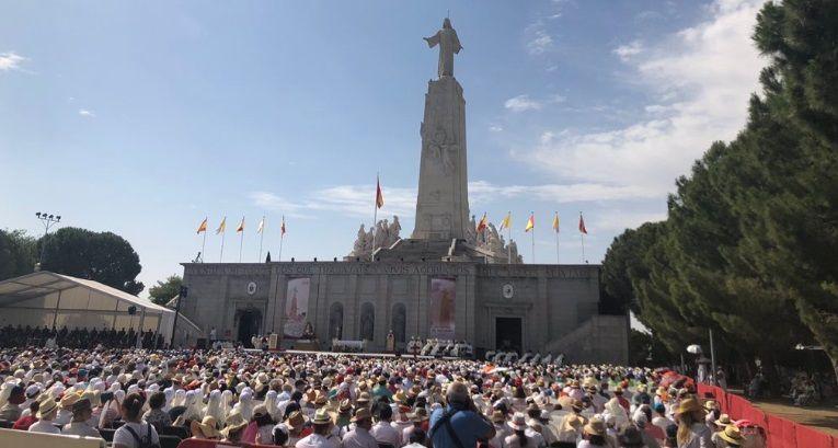 Renovación de la consagración hecha hace un siglo al Sagrado Corazón