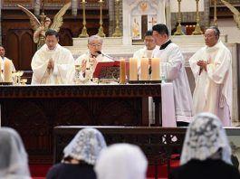 Misa con el cardenal de Seúl para dedicar Corea del Norte a la Virgen y orar por los muertos