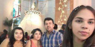 Jorge Palacios y su familia, agradecidos a la Virgen de Caacupé