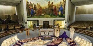 Oración en el santuario de Knock por las víctimas del coronavirus