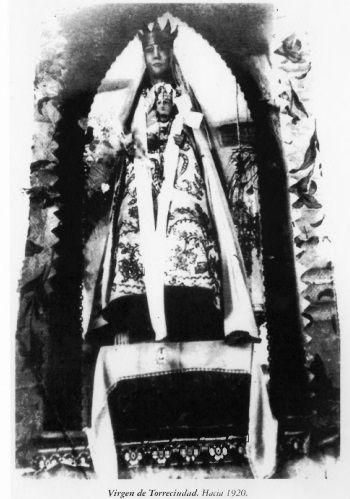 Virgen de Torreciudad en 1920