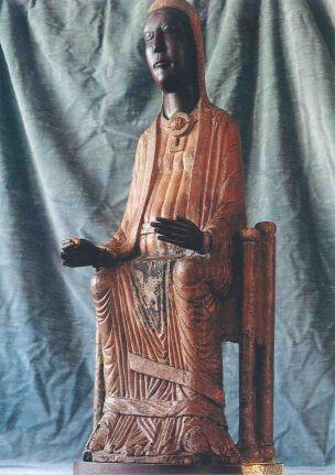 La Virgen de Torreciudad, románico arcaico, probablemente del s.XI