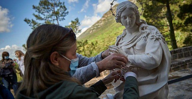 La Virgen de Éfeso ha recorrido muchos lugares de España y ahora llega a Madrid y alrededores