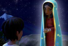 Un fotograma de la película de animación Tepeyac, sobre la Virgen de Guadalupe
